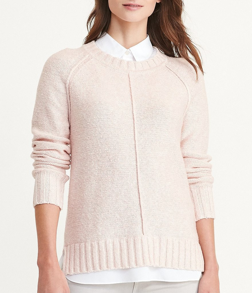 Lauren Ralph Lauren Layered Marled Sweater