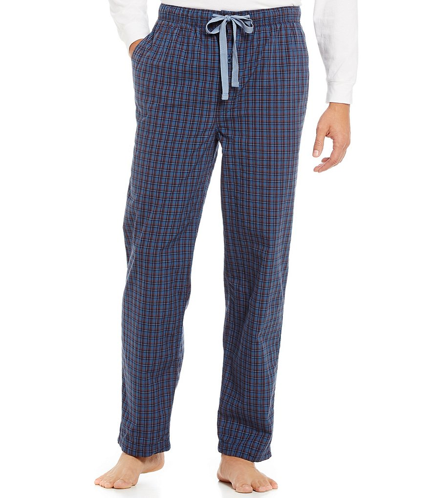 Cremieux Big & Tall Woven Plaid Printed Pajama Pants