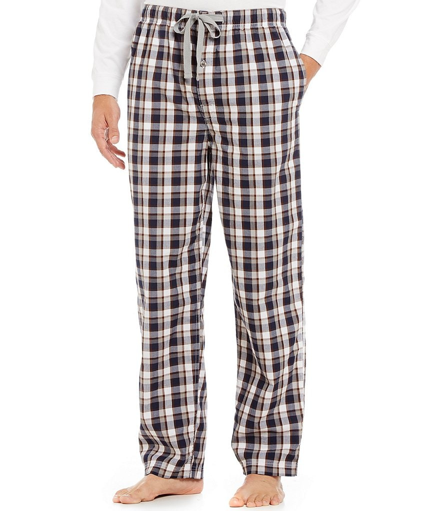 Cremieux Big & Tall Plaid Woven Pajama Pants
