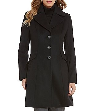 Pendleton Fit-and-Flare Princess Seaming Coat