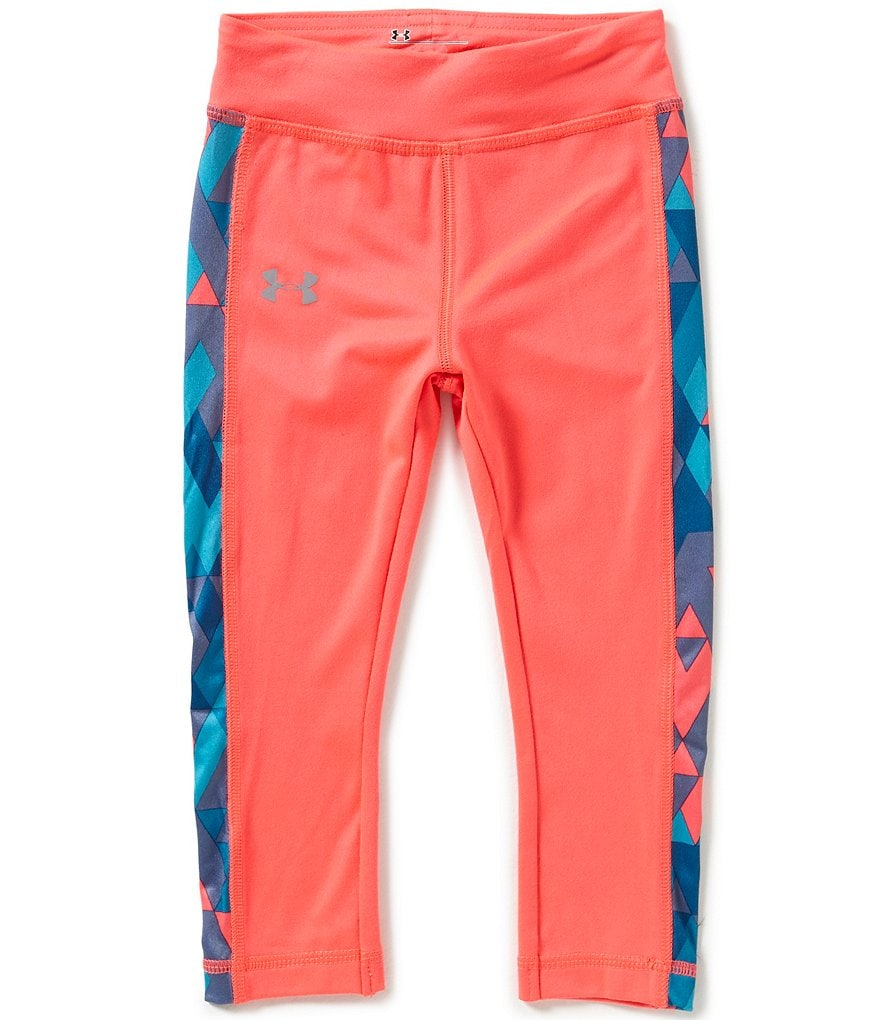 Under Armour Little Girls 2T-6X Tri-Meta Leggings