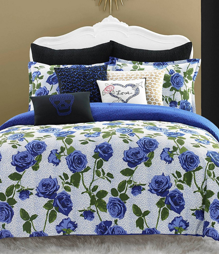 Betsey Johnson Regal Roses Comforter Mini Set