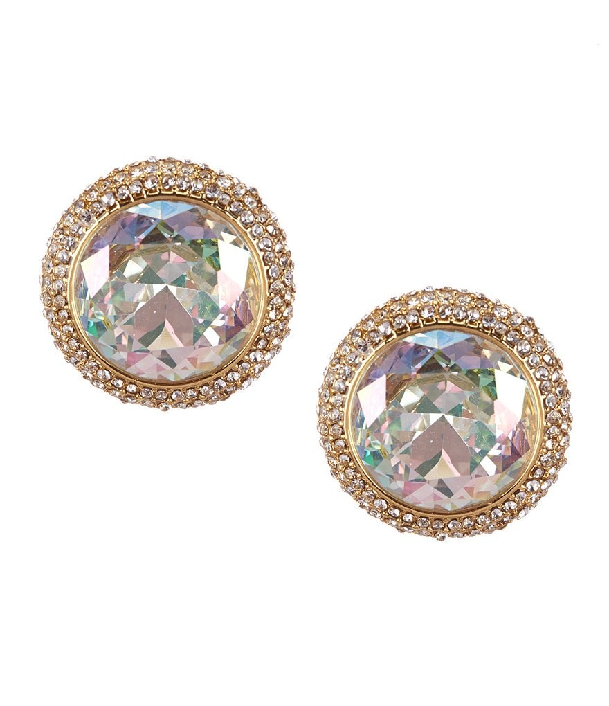 kate spade new york Absolute Sparkle Round Stud Earrings