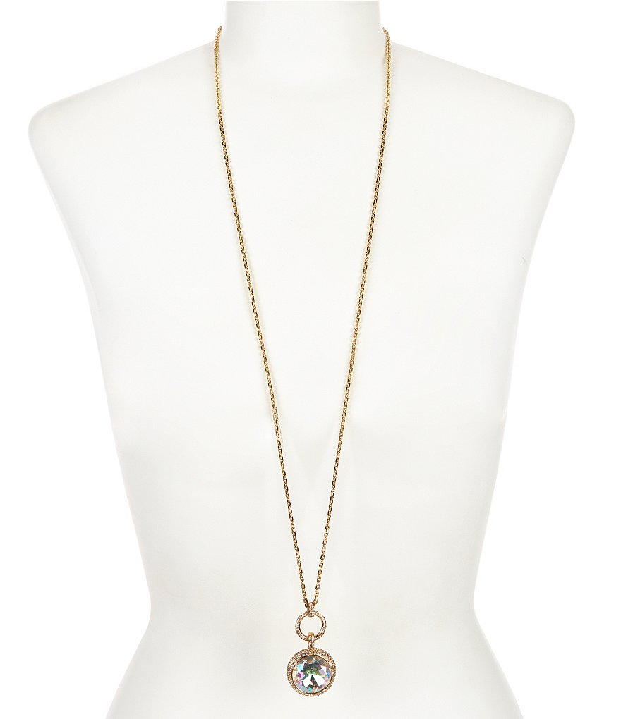 kate spade new york Absolute Sparkle Wrap Pendant Necklace