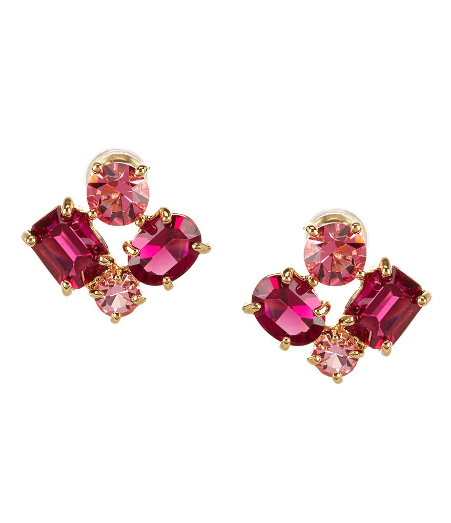 kate spade new york Vegas Jewels Cluster Statement Stud Earrings