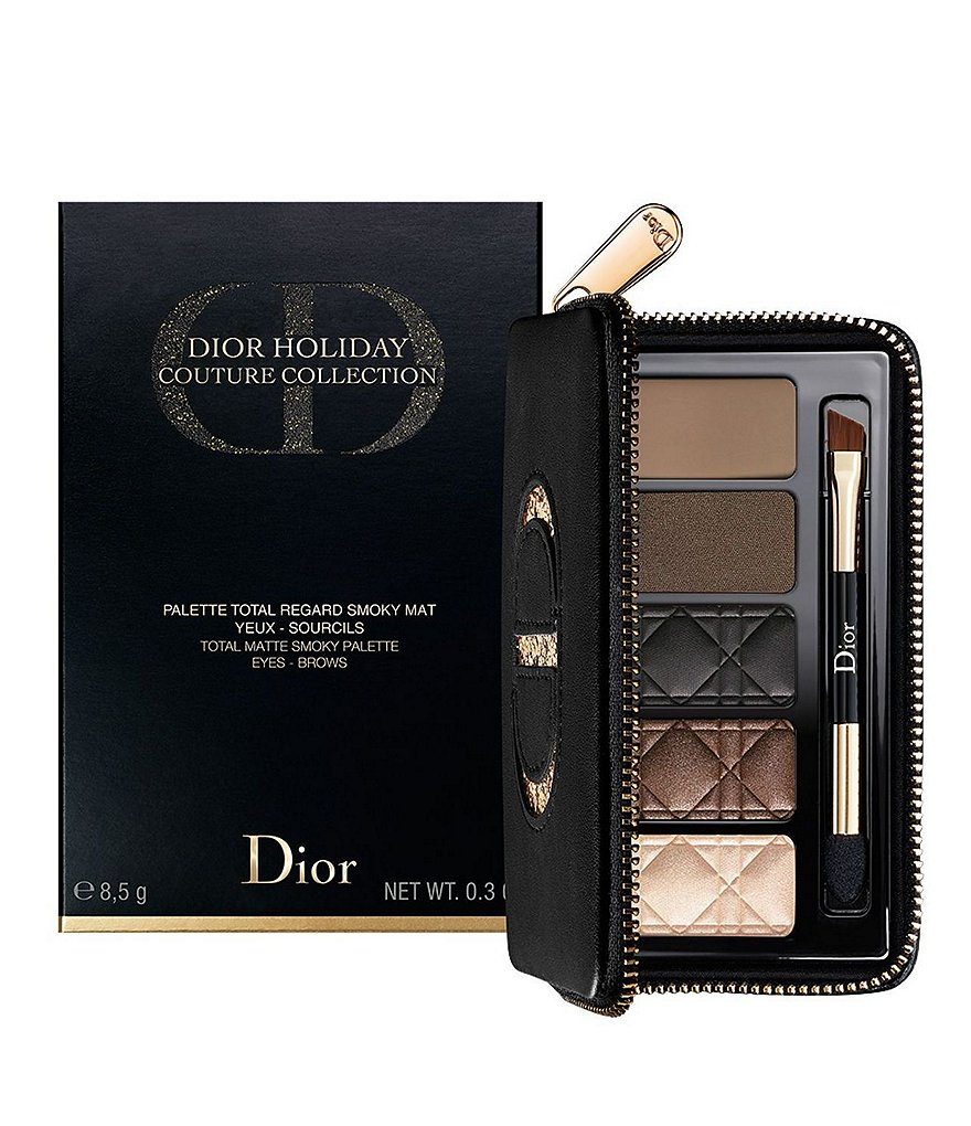 Dior Limited-Edition Total Matte Smoky Palette for Eyes & Brows