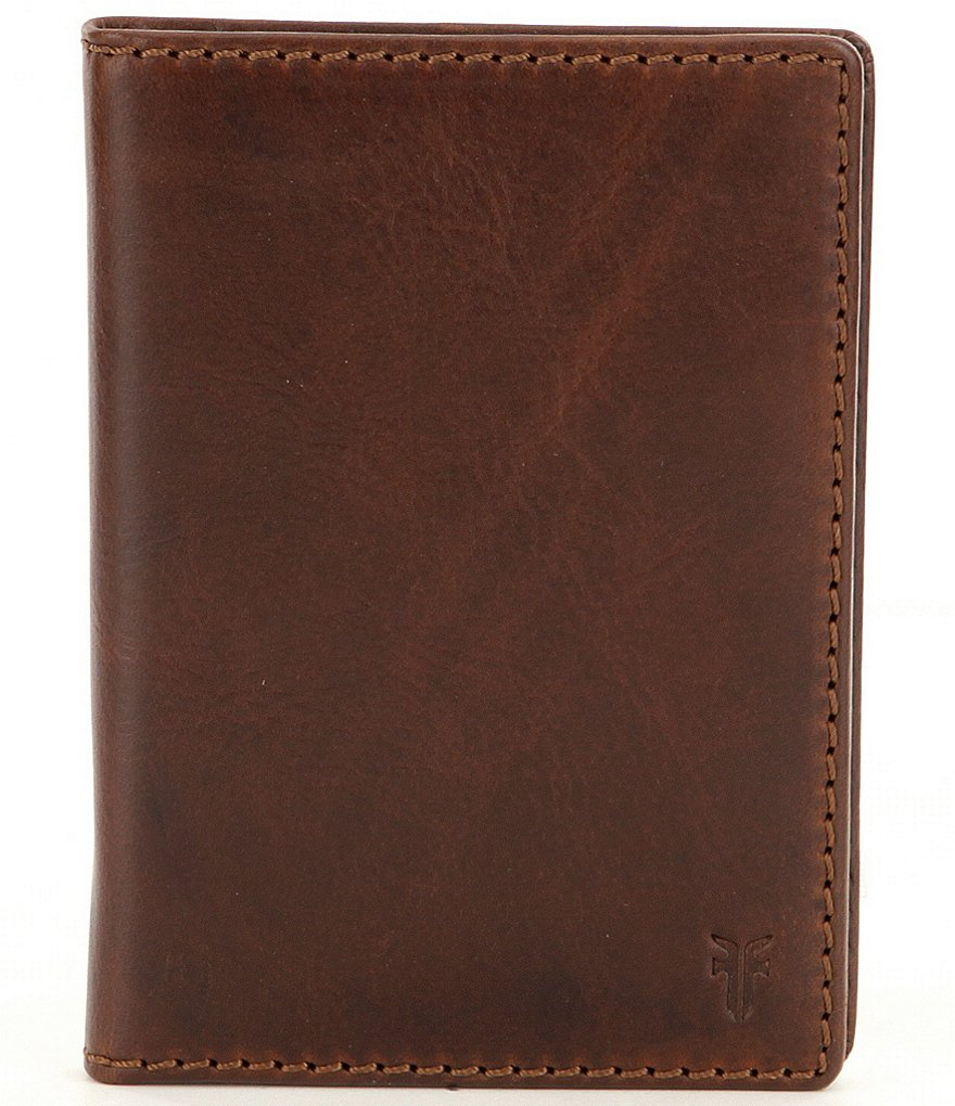Frye Logan Passport Wallet