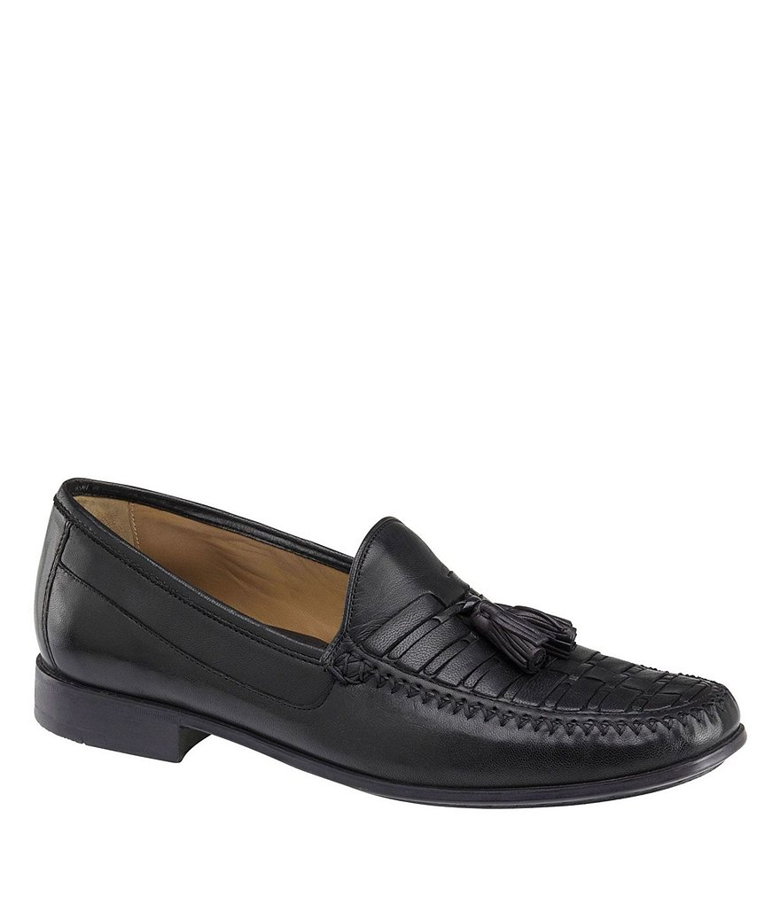 Johnston & Murphy Men´s Cresswell Woven Tassel Loafers