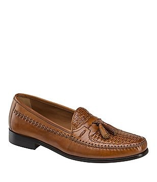 Domani Reeves Tasseled Woven Loafers