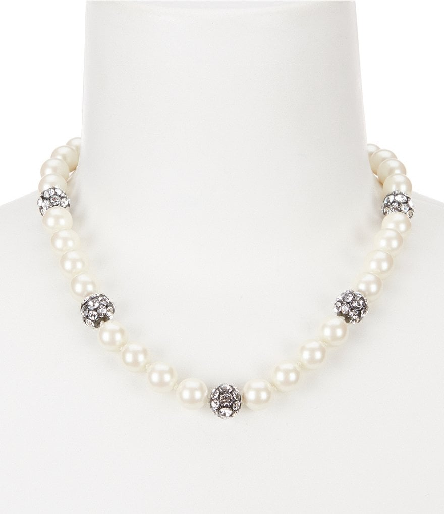 kate spade new york Party Pearls Collar Necklace