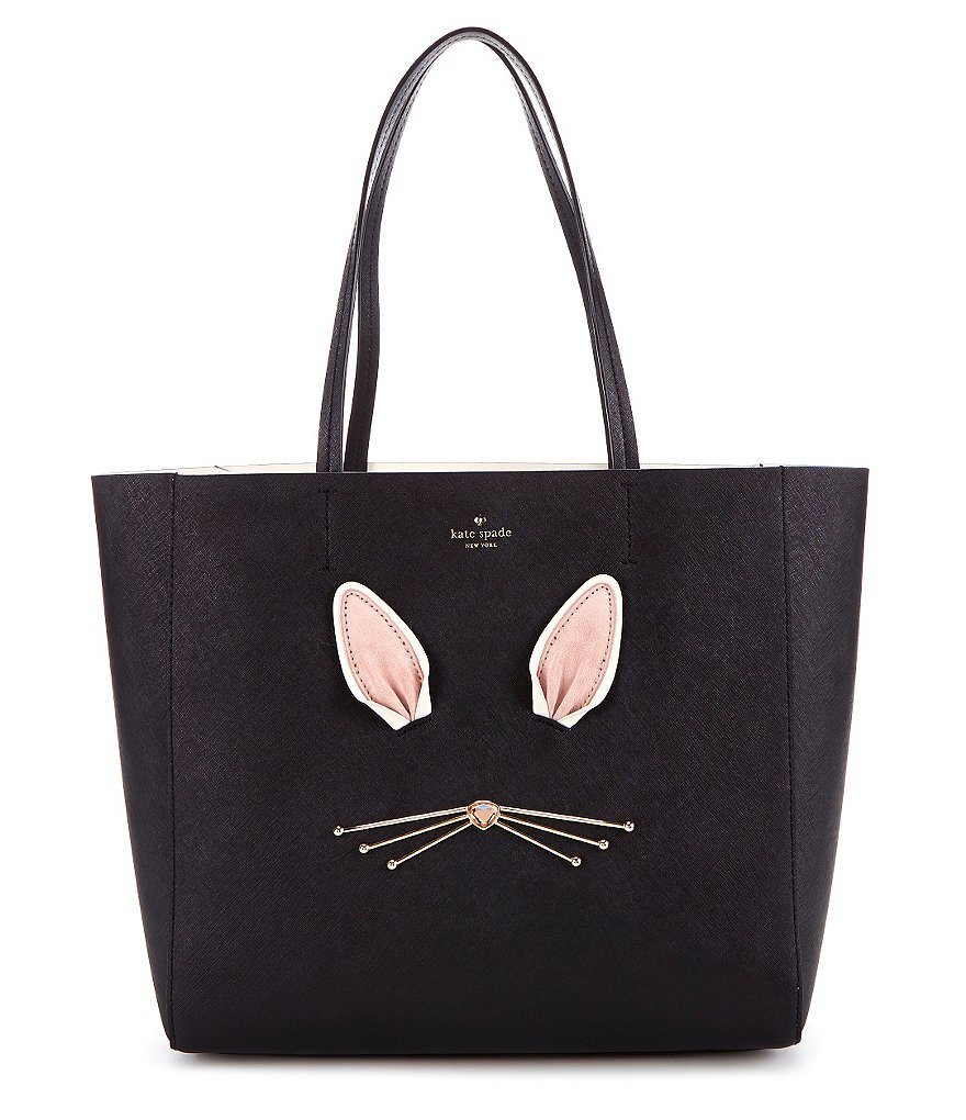 kate spade new york Make Magic Collection Hallie Faux-Fur Rabbit Tote