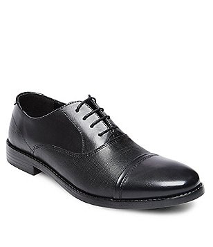 Steve Madden Men´s Finnch Leather Lace-Up Cap Toe Oxford