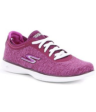 Skechers Go Step Lite-Agile Knit Mesh Lace-Up Sneakers