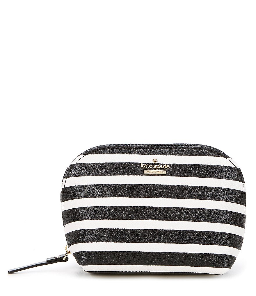 kate spade new york Hawthorne Lane Collection Small Annabella Striped Cosmetic Bag