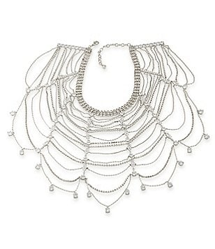 Carolee Marquee Statement Collar Necklace