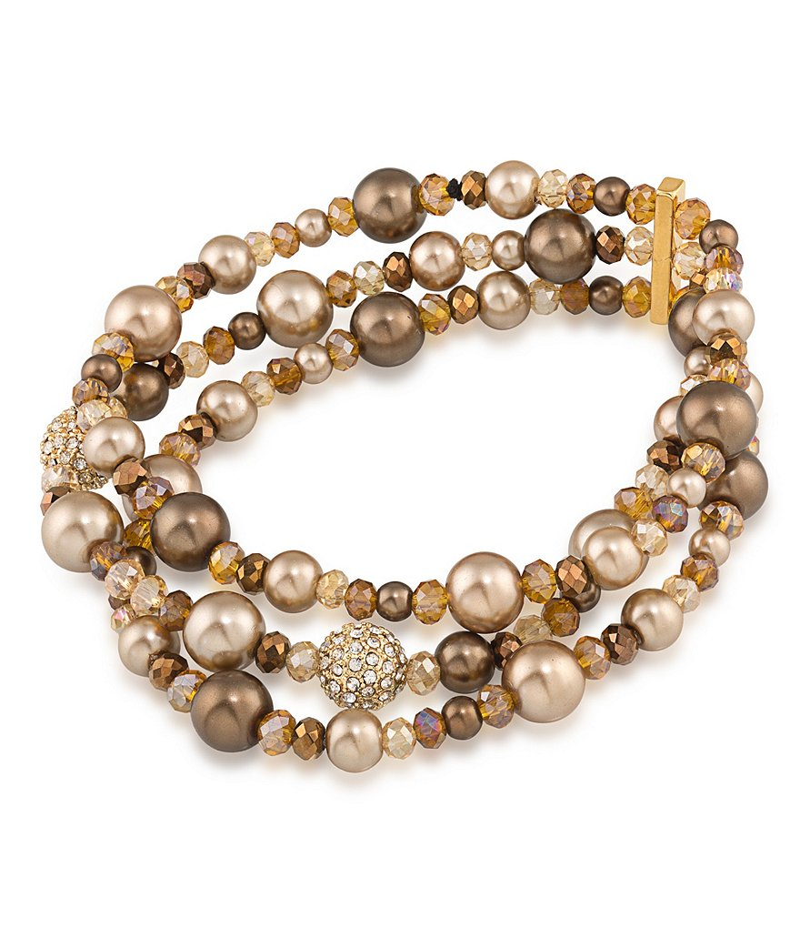 Carolee Metropolitan Club Stretch Bracelet