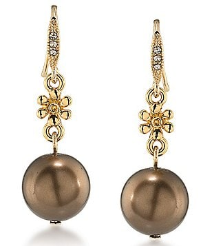 Carolee Metropolitan Club Double-Drop Earrings
