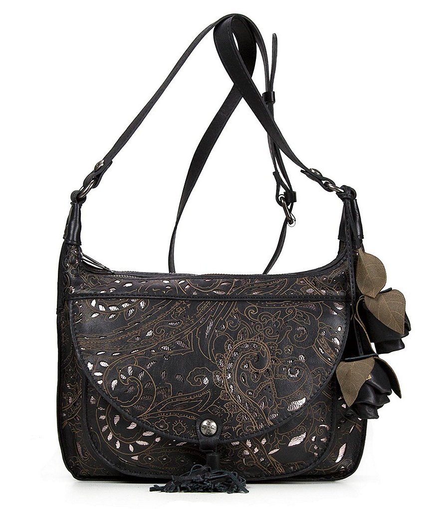 Patricia Nash Laser Lace Collection Camila Hobo Bag