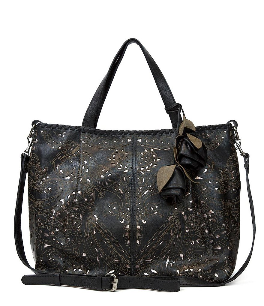 Patricia Nash Laser Lace Collection Zola Tote