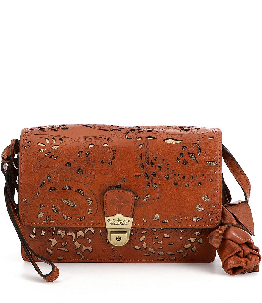 Patricia Nash Laser Lace Collection Lanza Cross-Body Bag