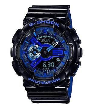 G-Shock Dual Layer Resin-Strap Ana-Digi Watch