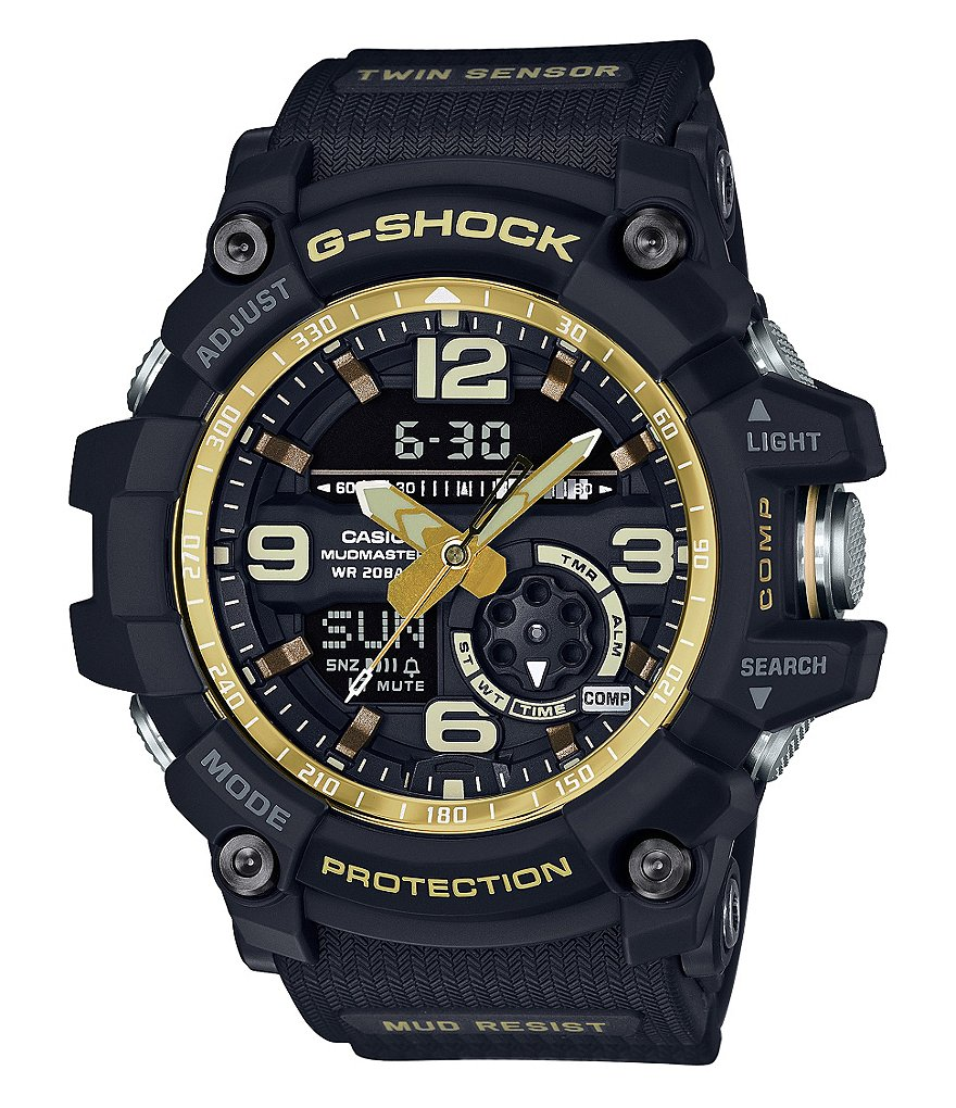 G-Shock Master of G Series Mudmaster Resin-Strap Ana-Digi Watch