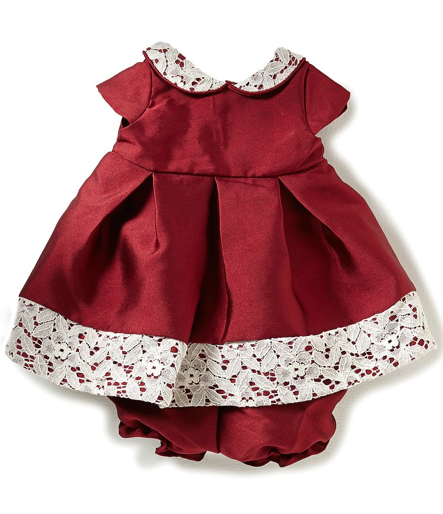 Laura Ashley London Baby Girls Newborn-24 Months Lace-Trimmed Dress