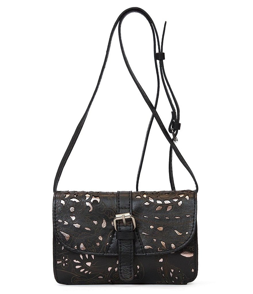 Patricia Nash Laser Lace Collection Torri Cross-Body Bag