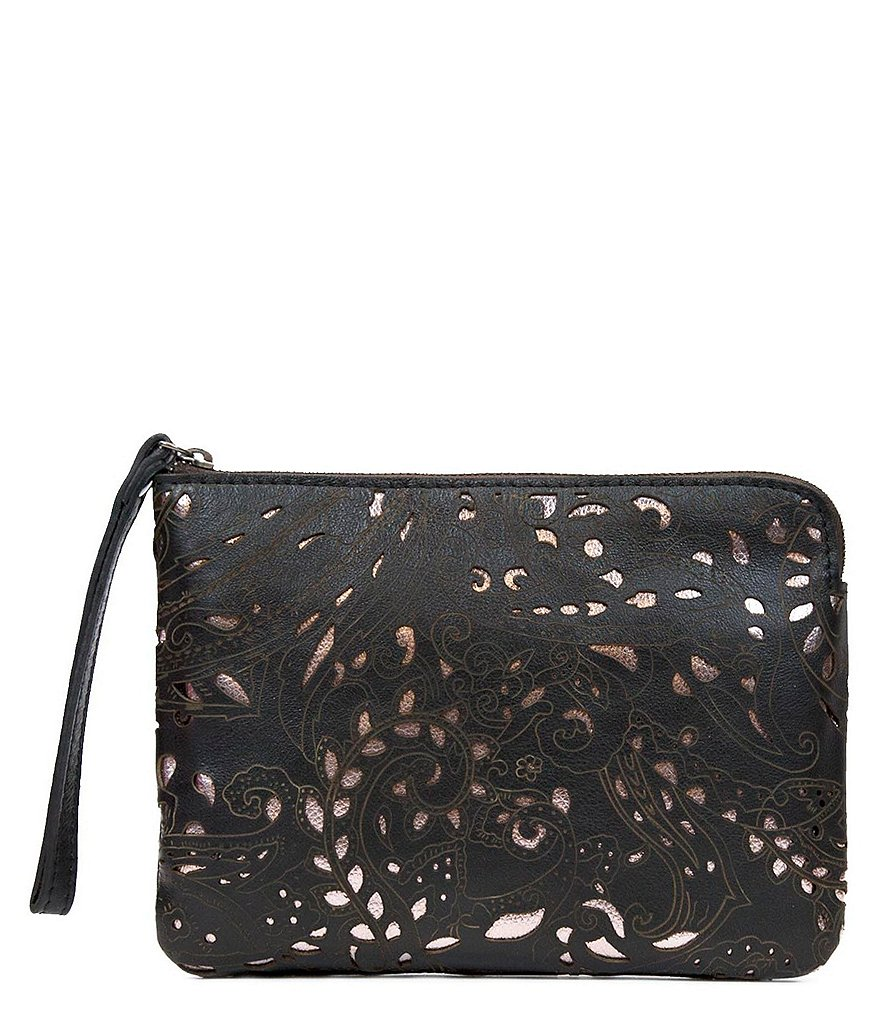 Patricia Nash Laser Lace Collection Cassini Wristlet