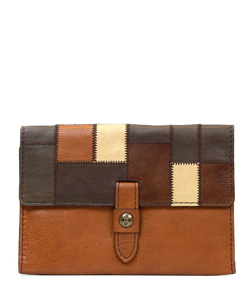 Patricia Nash Zig Zag Patchwork Collection Colli Wallet