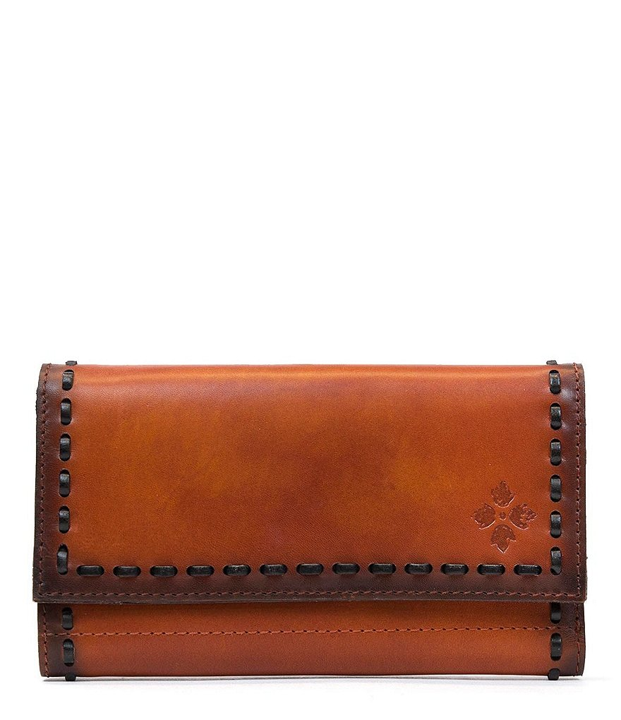 Patricia Nash Burned Veg Tan Collection Terresa Wallet