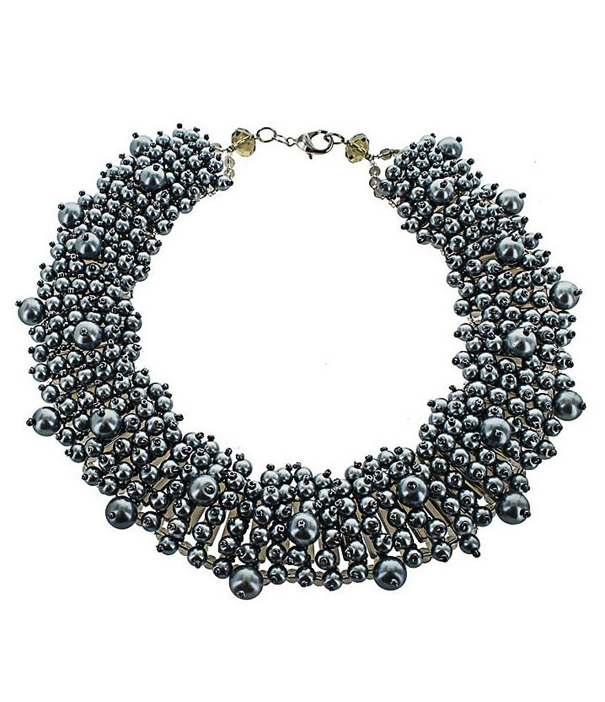 Panacea Freshwater Pearl Statement Necklace