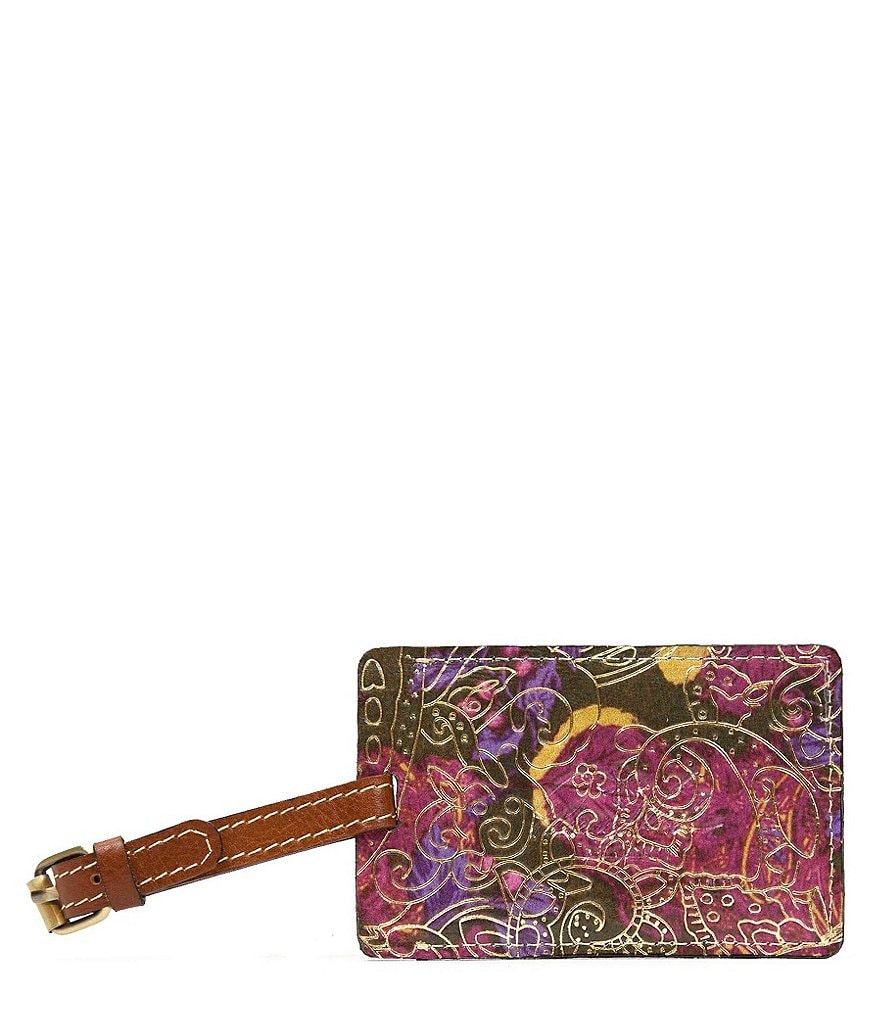 Patricia Nash Metallic Paisley Collection Bagagli Luggage Tag