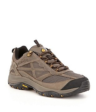 Columbia Terrebonne Leather & Textile Lace Up TECHLITE Sneakers