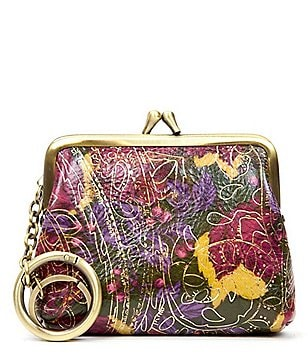 Patricia Nash Metallic Paisley Collection Borse Coin Purse