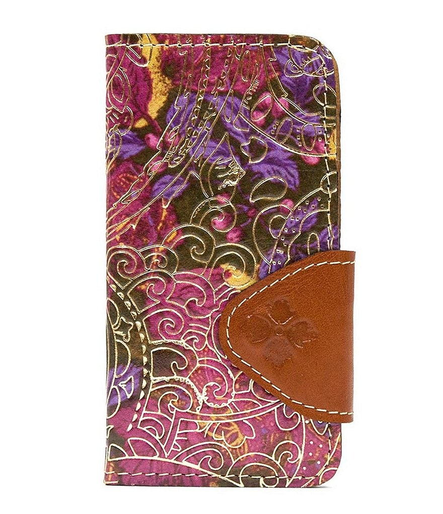 Patricia Nash Metallic Paisley Collection Fiona iPhone 6 Wallet