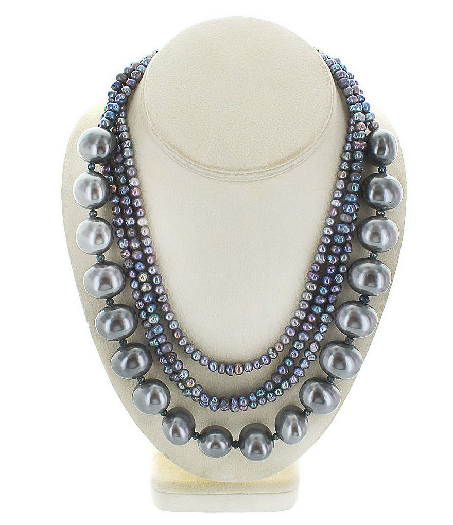 Panacea Handmade Freshwater Pearl Multi-Strand Necklace
