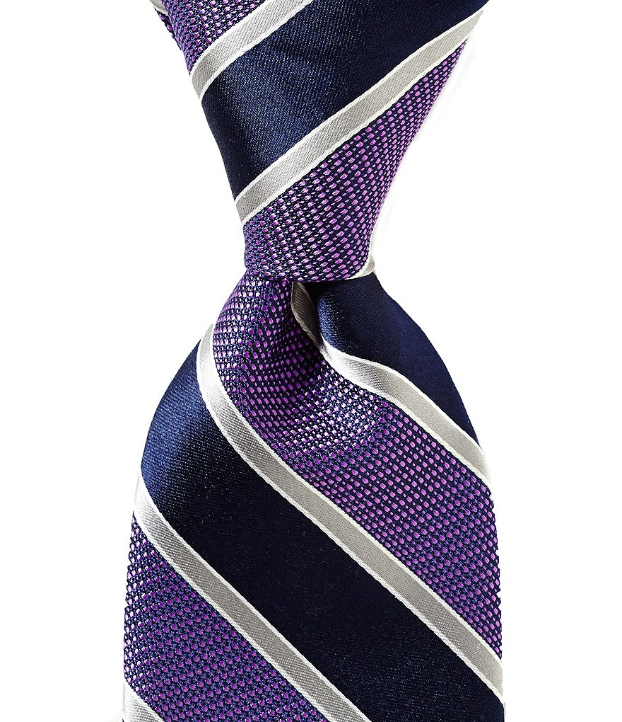 Cremieux Swing Stripe Traditional Silk Tie