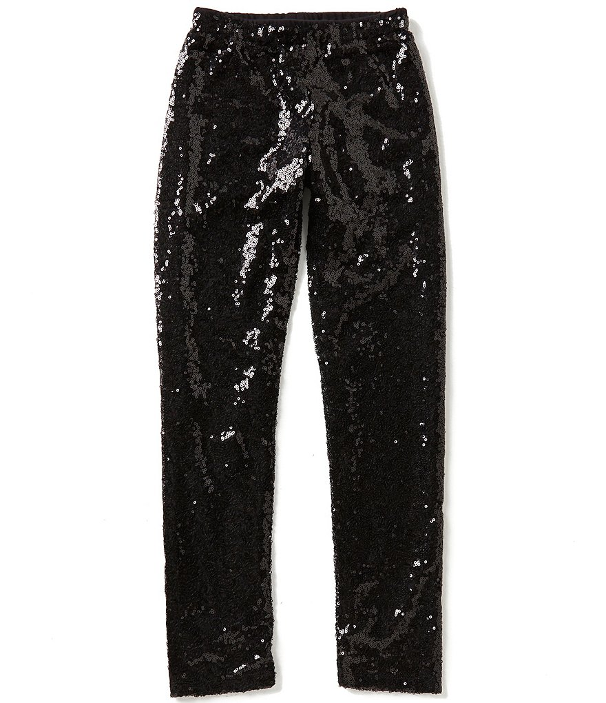 GB Girls Big Girls 7-16 Sequin Leggings