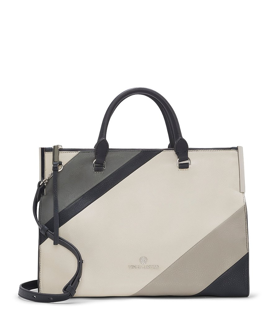 Vince Camuto Tina Color Block Satchel