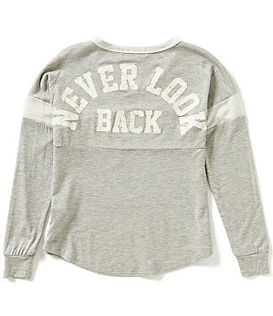 Moa Moa Big Girls 7-16 Never Look Back Long Sleeve Tee