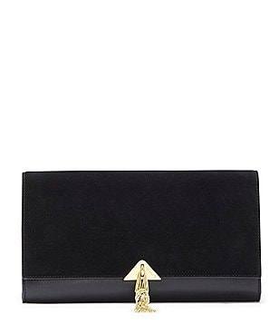 Vince Camuto Monro Tasseled Clutch