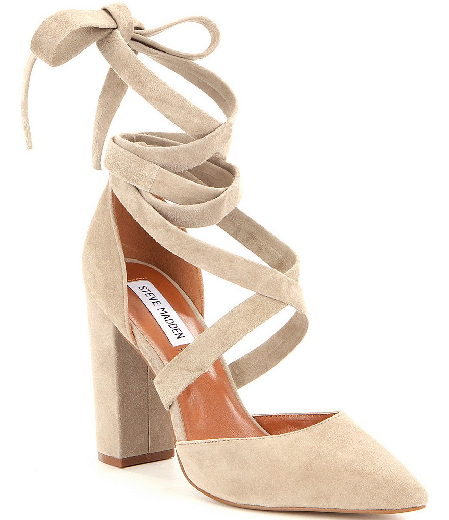 Steve Madden Bryony Lace Up Pumps