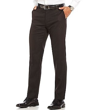 Murano Zac Modern Straight Fit Flat-Front Performance Pants