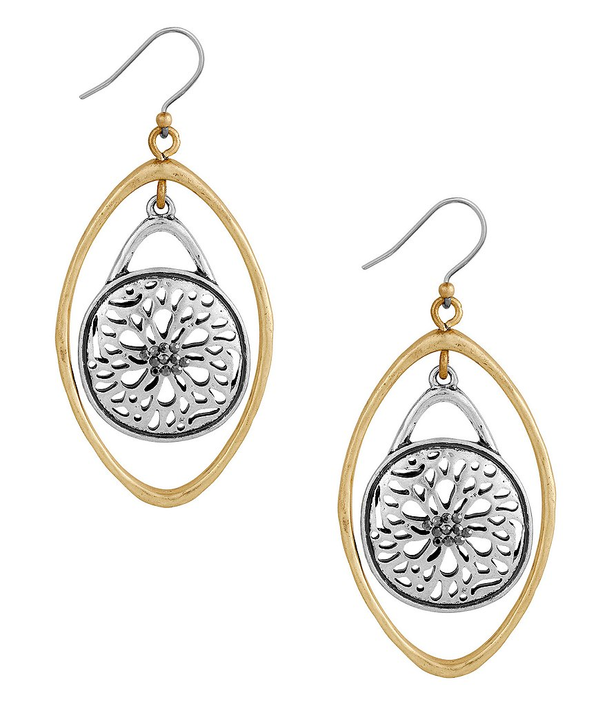 Lucky Brand Sugar Plum Orbital Drop Earrings