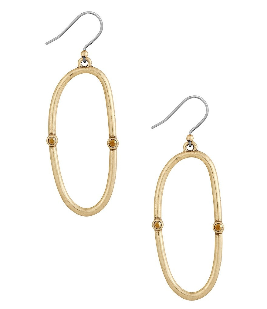 Lucky Brand Open Hoop Earrings