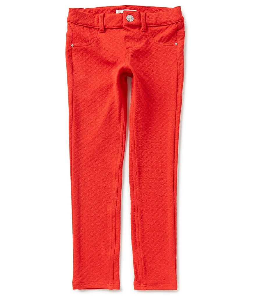 Copper Key Big Girls 7-16 Textured Knit Skinny Pull-On Pants
