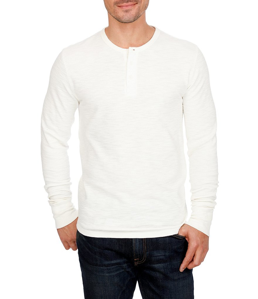 Lucky Brand Thermal Long-Sleeve Henley