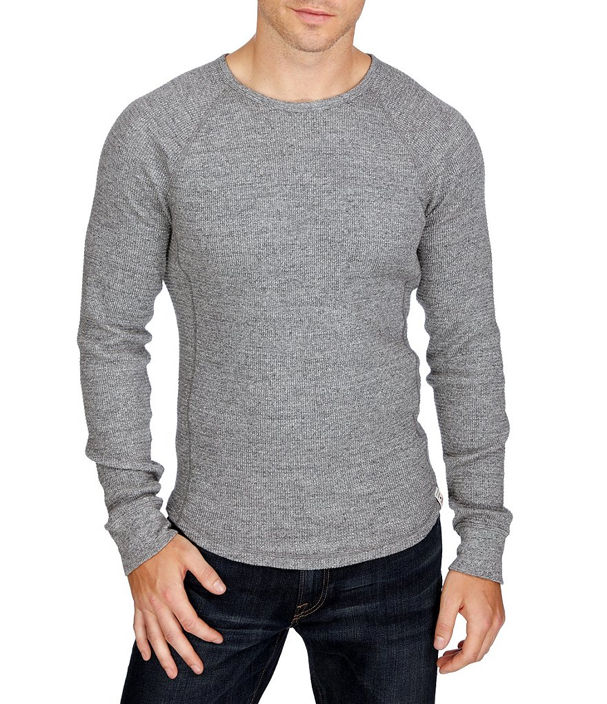 Lucky Brand Long-Sleeve Lived In Thermal Crew
