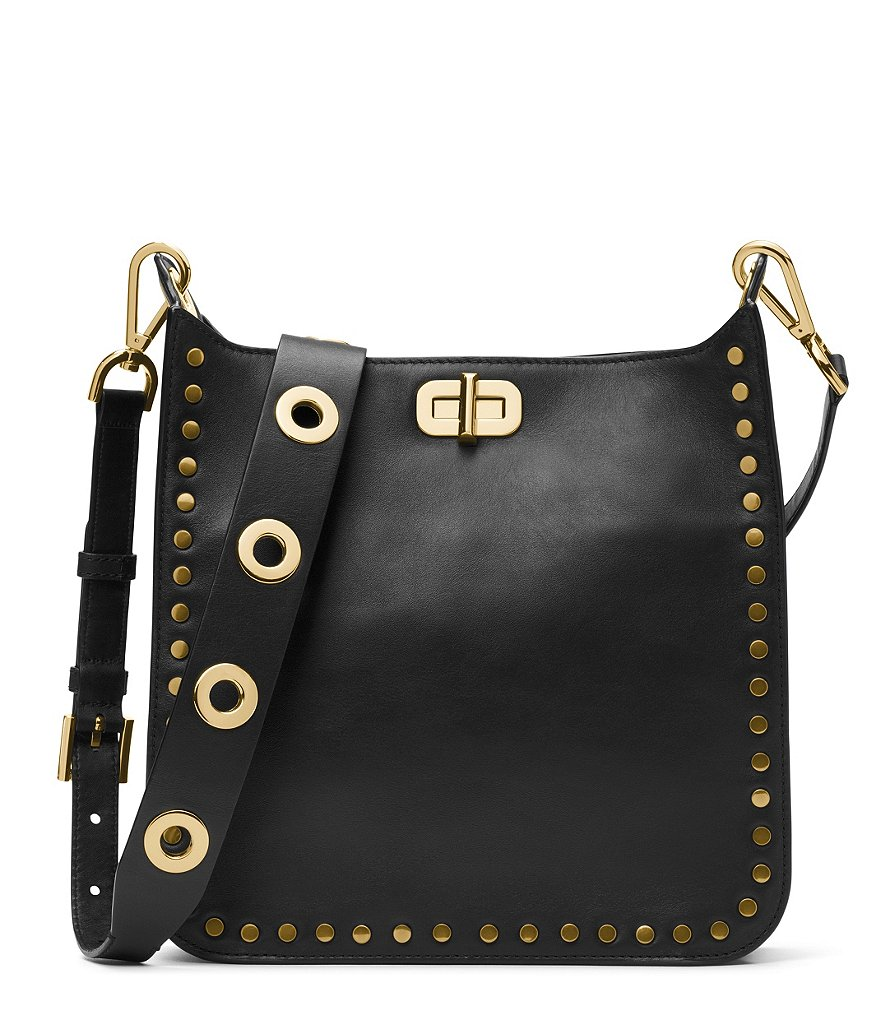 MICHAEL Michael Kors Sullivan Studded Medium North/South Cross-Body Bag